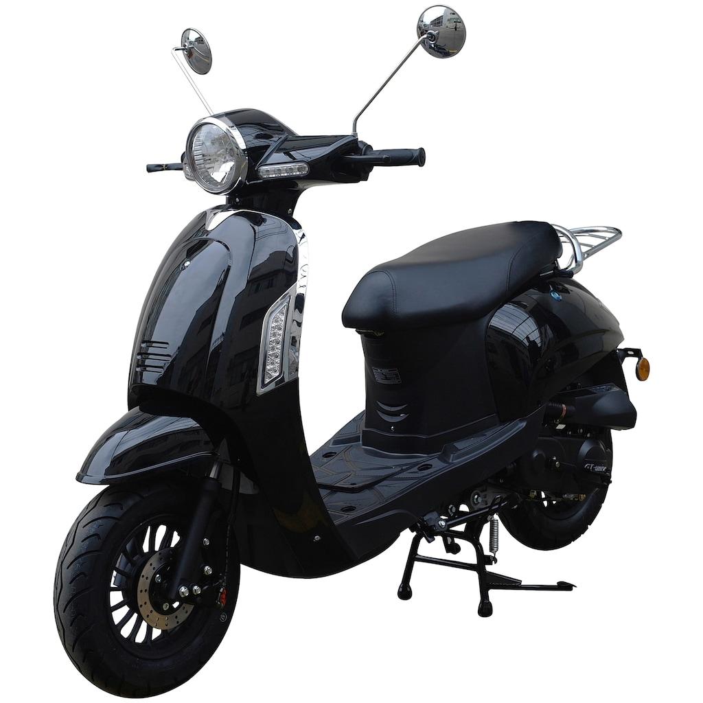 GT UNION Motorroller »Massimo«, 50 cm³, 45 km/h, Euro 4, 3 PS
