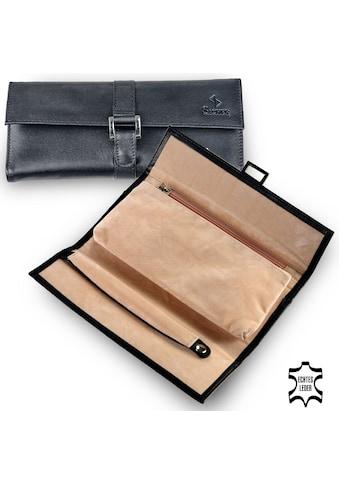 Sacher Schmuckrolle »Schmucktasche, 1011.010443«, (1 tlg.), feines italienisches Echtleder kaufen