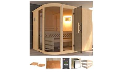 WEKA Sauna »Sara 2«, 244x194x199 cm, 9 kW Ofen mit ext. Steuerung kaufen