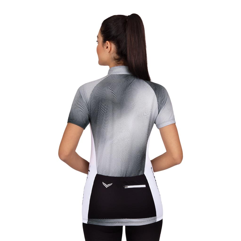 Trigema Netzshirt, mit Stehkragen