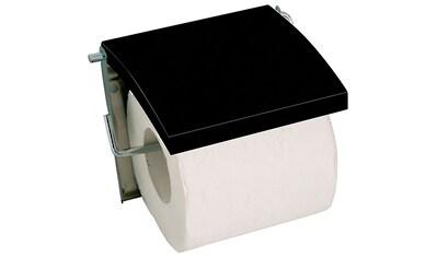 MSV Toilettenpapierhalter, mit Deckel aus MDF, in verschiedenen Farben kaufen