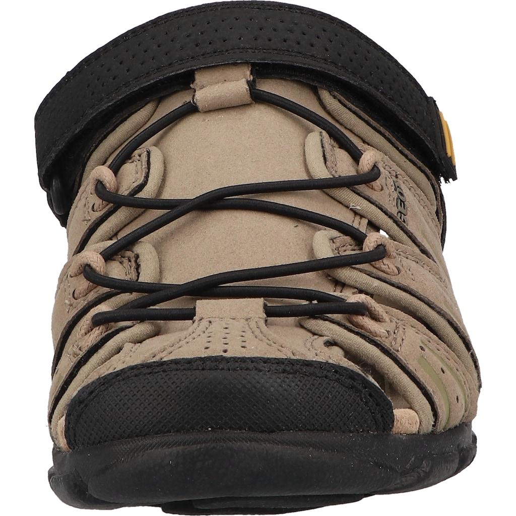 Geox Sandale »Lederimitat«