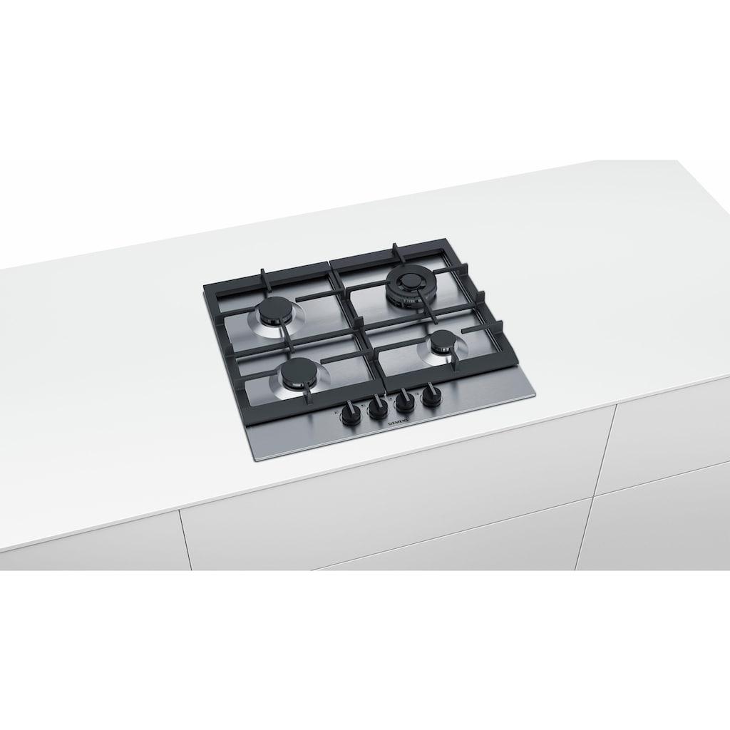 SIEMENS Gas-Kochfeld, EC6A5HB90D, mit stepFlame-Technology
