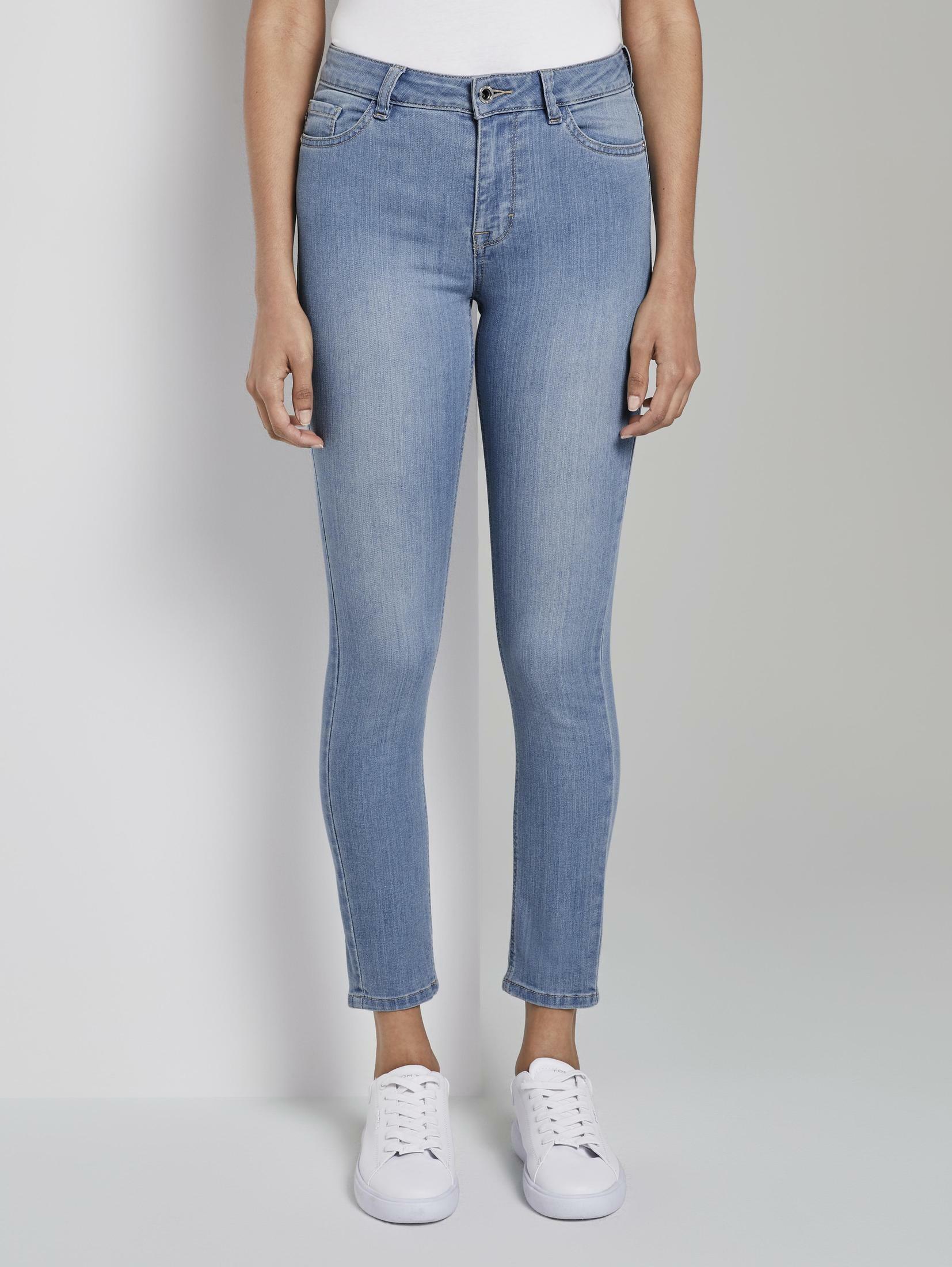 tom tailor mine to five anklejeans skinny jeans anklelength Mit Knopf und Reißverschluss zum Schließen AKLBB1109122816