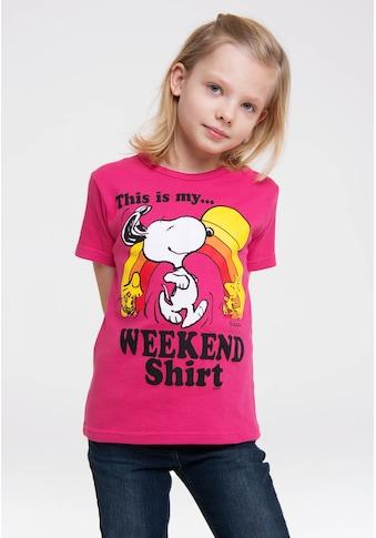 LOGOSHIRT T-Shirt »Peanuts«, mit lizenziertem Originaldesign kaufen