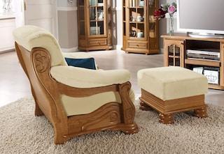 max winzer hocker texas mit dekorativem holzgestell kaufen baur. Black Bedroom Furniture Sets. Home Design Ideas