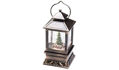 KONSTSMIDE LED Dekolicht, Warmweiß, LED Schneelaterne Weihnachtsmarkt für den... kaufen