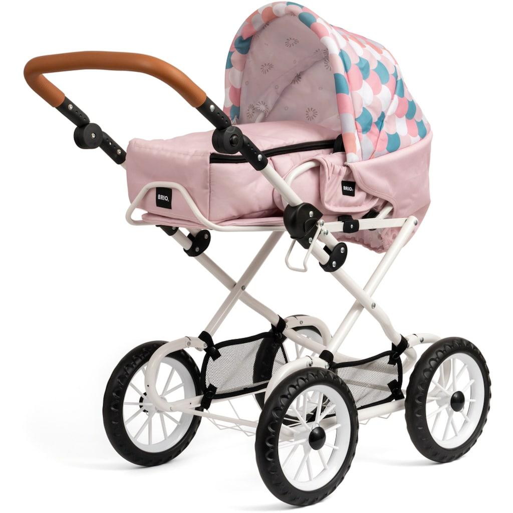 BRIO® Puppenwagen »Combi, Soft Pink mit Tropfen«, FSC®-Holz aus gewissenhaft bewirtschafteten Wäldern