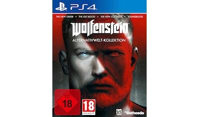 Bethesda Spiel »Wolfenstein: Alternativwelt-Kollektion«, PlayStation 4 kaufen