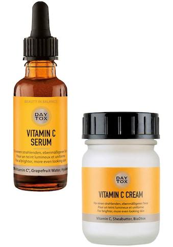 DAYTOX Gesichtspflege-Set »Vitamin C Glow Duo«, (Spar-Set, 2 tlg.) kaufen