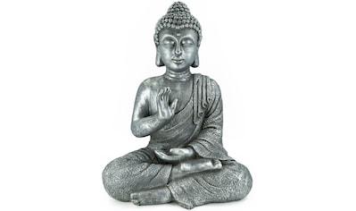 NOOR LIVING Buddhafigur »Buddha, sitzend, Hand vorm Körper« kaufen