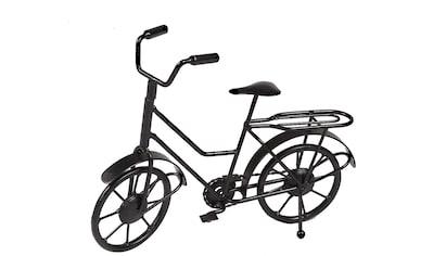 Ambiente Haus Wanddekoobjekt »Deko Fahrrad - schwarz 27cm« kaufen