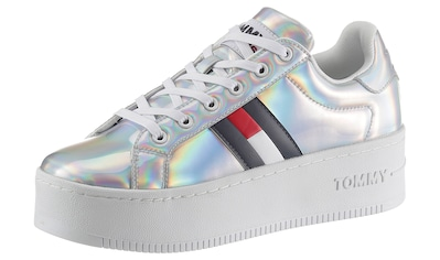 Tommy Jeans Plateausneaker »FULLY IRIDESCENT IRONIC SNEAKER«, mit modischer Plateausohle kaufen