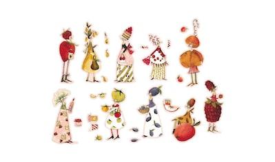 Wall-Art Wandtattoo »Obst Fee Marmeladen Früchte« kaufen