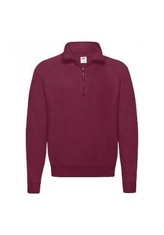 Fruit of the Loom Fleecepullover »Erwachsene Unisex Klassik Zip Sweatshirt« kaufen