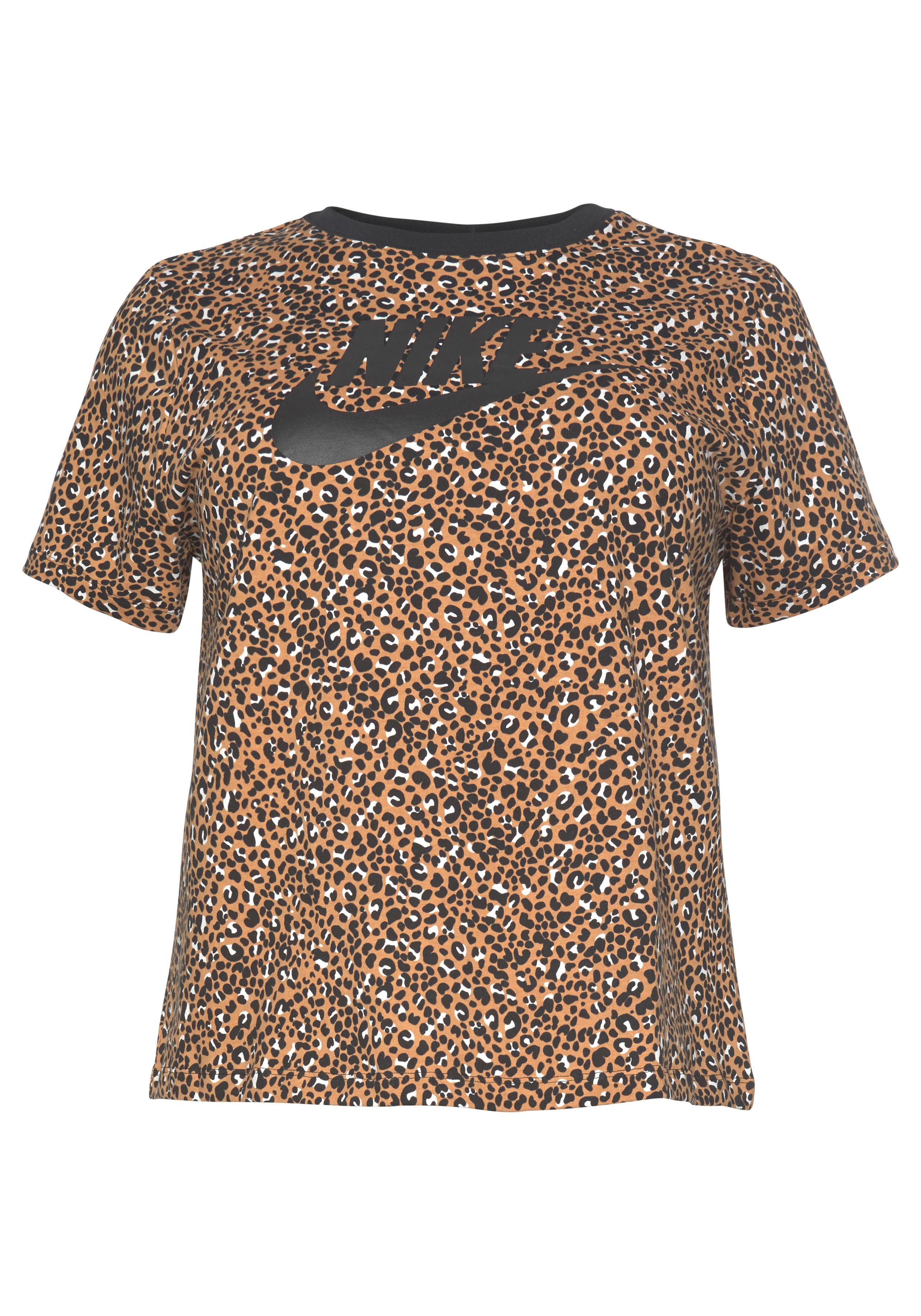 Nike Sportswear T-Shirt WOMEN NIKE SPORTSWEAR TOP SHORTSLEEVE PLUS SIZE | Sportbekleidung > Sporthosen | Bunt | Nike Sportswear