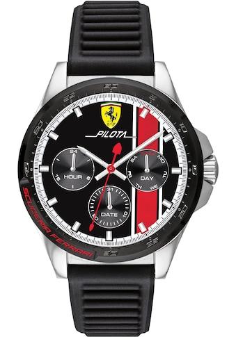 Scuderia Ferrari Multifunktionsuhr »PILOTA, 830661« kaufen