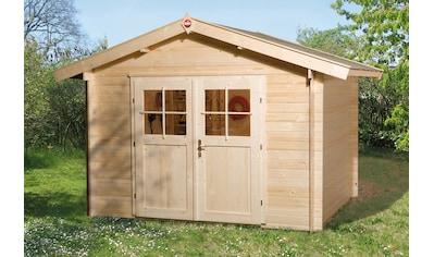 WEKA Gartenhaus »122 Premium«, BxT: 300x280 cm, inkl. Fußboden kaufen