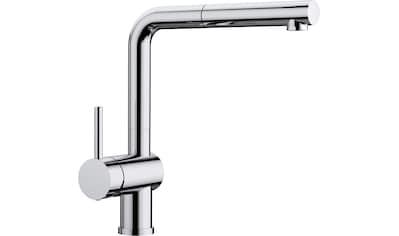 BLANCO Küchenarmatur »LINUS - S Hebel links«, Hochdruck, mit ausziehbarem Auslauf kaufen