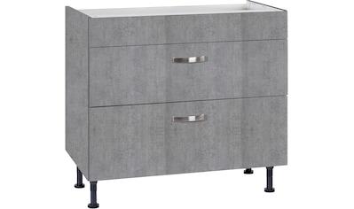OPTIFIT Kochfeldumbauschrank »Cara«, Breite 90 cm, mit Vollauszügen und... kaufen