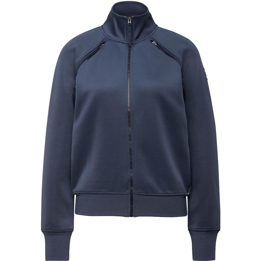 G-Star RAW Sweatshirt »Sweatjacke Branded tape track top«, mit Reißverschlussdetails an den Schultern