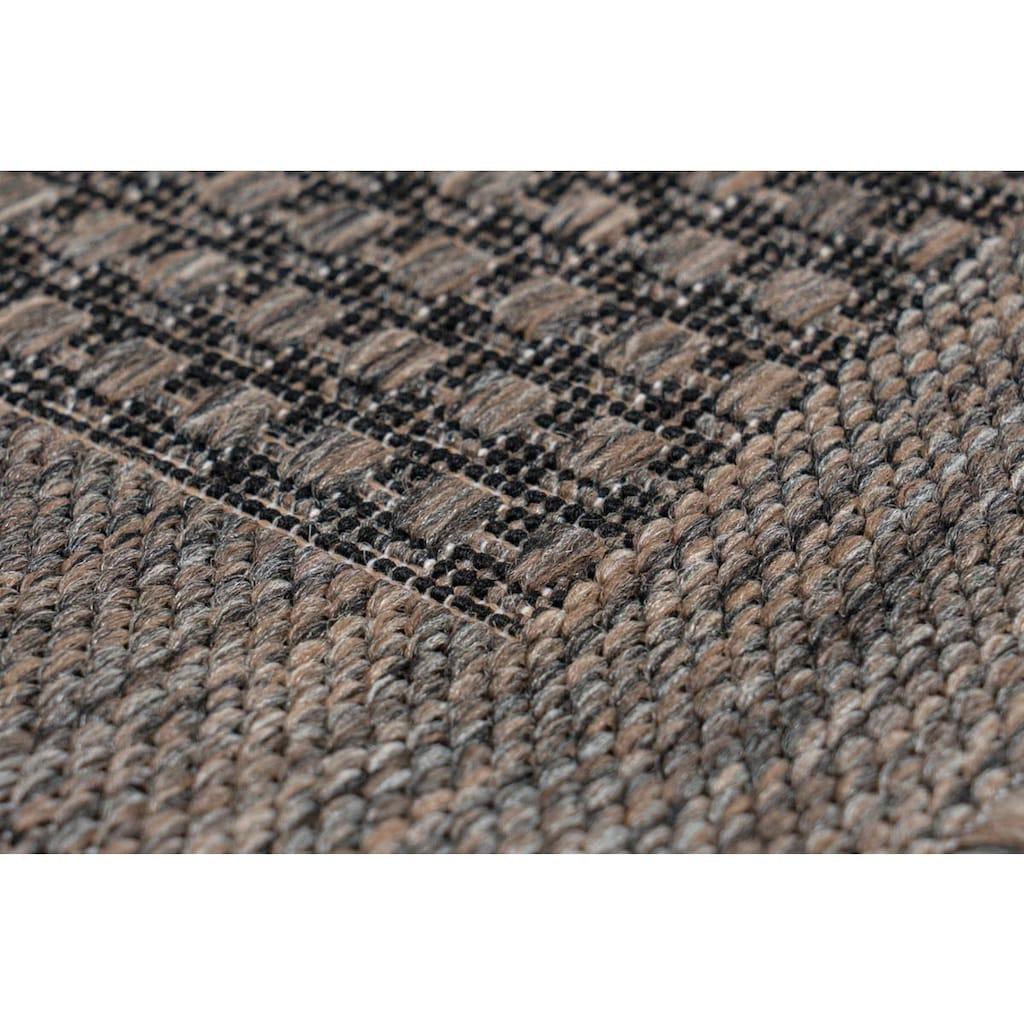 LALEE Teppich »Sunset 607«, rechteckig, 5 mm Höhe, In- und Outdoor geeignet, Wohnzimmer