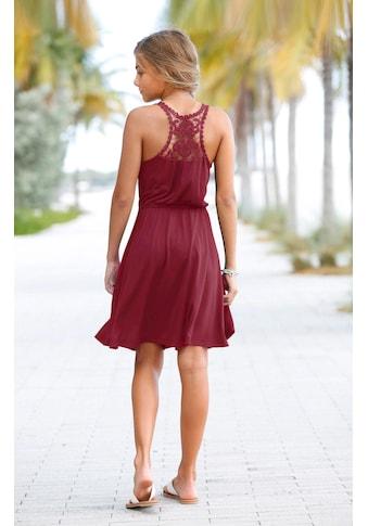 KIDSWORLD Jerseykleid, mit Spitzeneinsatz kaufen