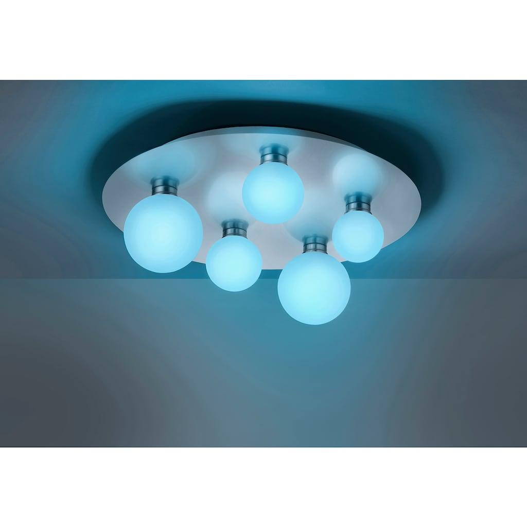 TRIO Leuchten LED Deckenleuchte »DICAPO«, LED-Board, 1 St., Farbwechsler, RGBW