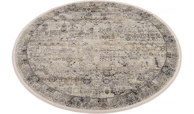 OCI DIE TEPPICHMARKE Teppich »BESTSELLER TADI«, rund, 8 mm Höhe, Wohnzimmer kaufen