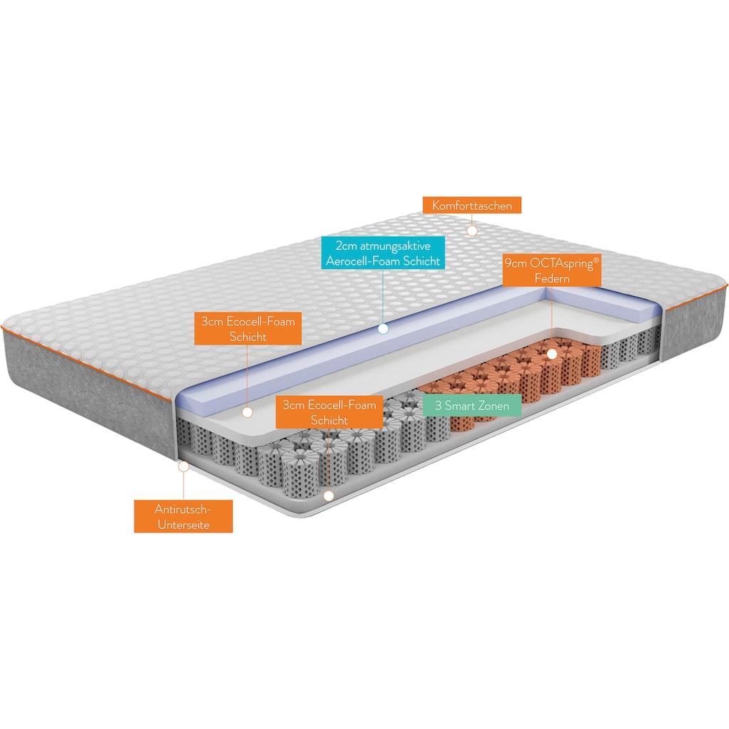 OCTAsleep Komfortschaummatratze »Octasleep Smart Matress«, (1 St.), Innovative Schaumfedern mit neuartigem Komforterlebnis