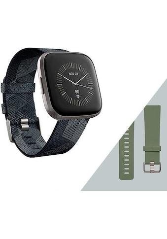 fitbit Versa 2  -  Sonderedition (inkl. Ersatzarmband) Smartwatch kaufen