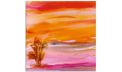 Artland Glasbild »Abendsonne«, Sonnenaufgang & -untergang, (1 St.) kaufen