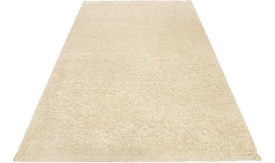 Esprit Hochflor-Teppich »Dantep«, quadratisch, 35 mm Höhe kaufen