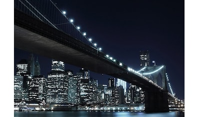 Home affaire Fototapete »New York by night«, 272/198 cm kaufen