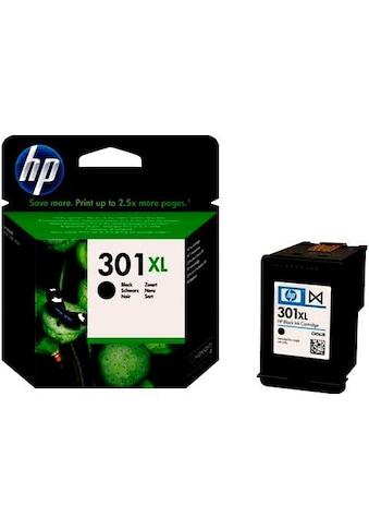 HP Tintenpatrone »hp NR.301XL, original, CH563EE, schwarz« kaufen