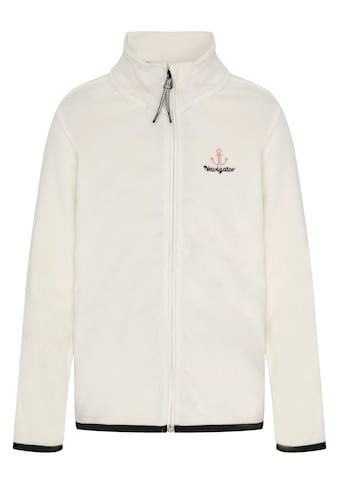 NAVIGATOR Fleecejacke »Girls Jacket aus Fleece und mit kleinem Stehkragen« kaufen