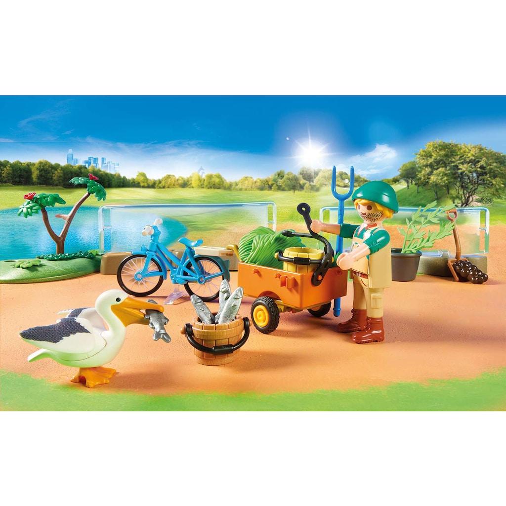 Playmobil® Konstruktions-Spielset »Mein großer Erlebnis-Zoo (70341), Family Fun«, ; Made in Germany