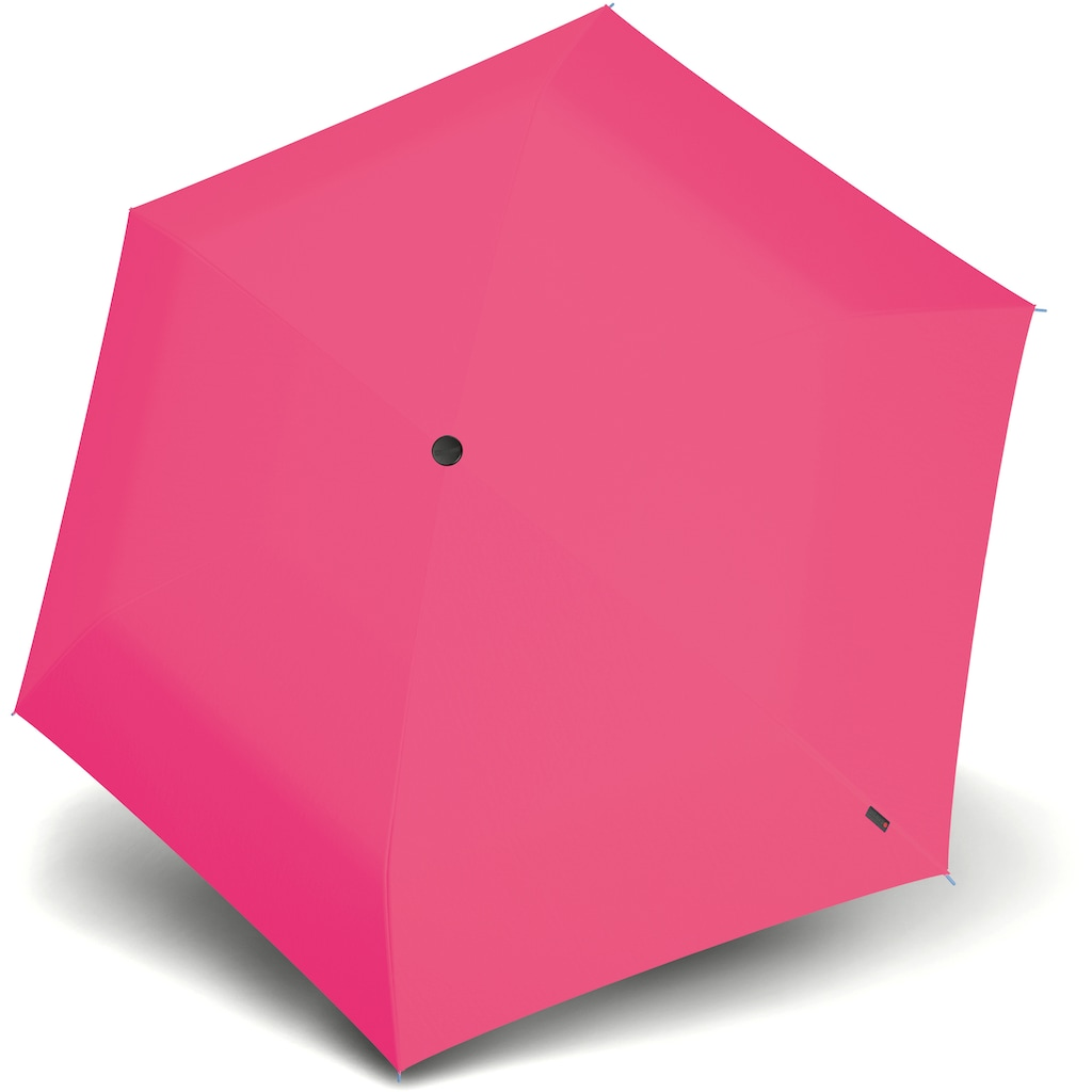 Knirps® Taschenregenschirm »Knirps U.200 Ultra Light Duomatic, Uni Neon Pink«