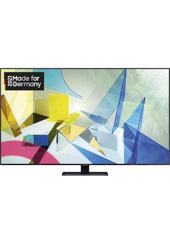"""Samsung QLED-Fernseher »GQ75Q80TGT«, 189 cm/75 """", 4K Ultra HD, Smart-TV kaufen"""