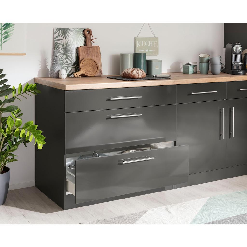 wiho Küchen Unterschrank »Cali«, 90 cm breit, mit 2 großen Auszügen ohne Arbeitsplatte