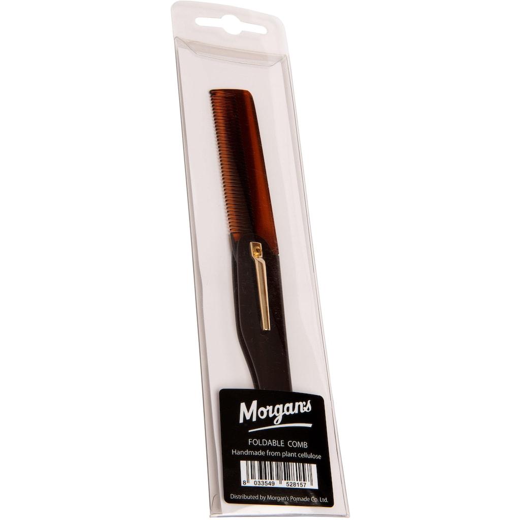 Morgan's Bartkamm »Foldable Moustache Comb«, klappbar, groß