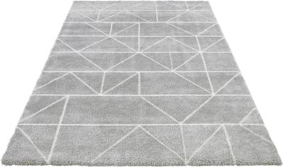 ELLE Decor Teppich »Arles«, rechteckig, 17 mm Höhe, Hoch-Tief-Effekt, Wohnzimmer kaufen