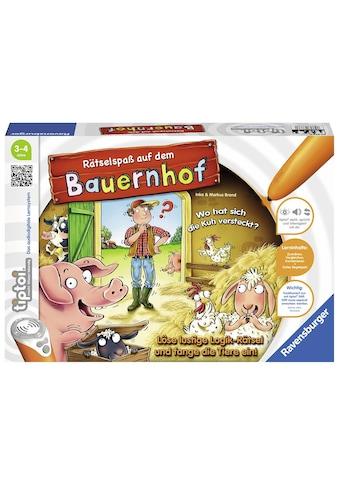 Ravensburger Spiel »tiptoi® Rätselspaß auf dem Bauernhof«, Made in Europe, FSC® -... kaufen