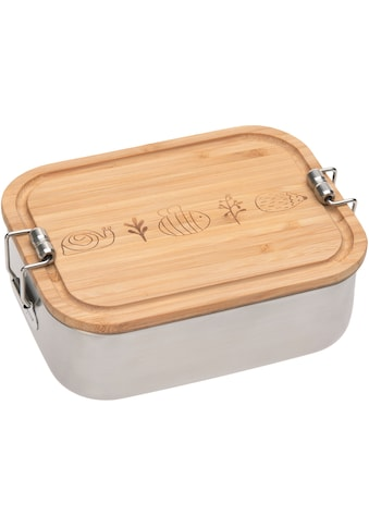 LÄSSIG Lunchbox »Garden Explorer«, (1 tlg.), mit Holzdeckel kaufen