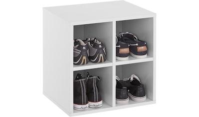 INOSIGN Schuhregal »Fricka«, mit einer schönen Holzfolien Optik, Stauraum für ca. 3 bis 6 Paar Schuhe, Höhe 84,5 cm kaufen