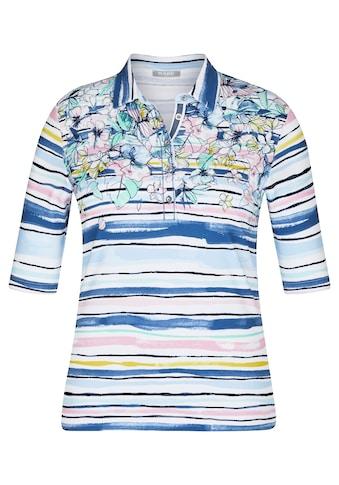 Rabe T-Shirt, mit geblümten und gestreiften Elementen kaufen