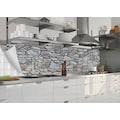 MYSPOTTI Küchenrückwand »mySPOTTIfixy Massiom«, selbstklebende und flexible Küchenrückwand-Folie