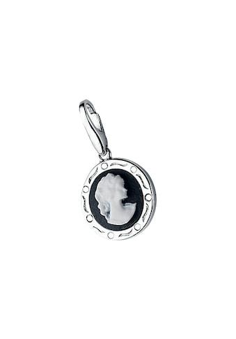GIORGIO MARTELLO MILANO Charm-Einhänger »Gemme schwarz mit Zirkonia« kaufen