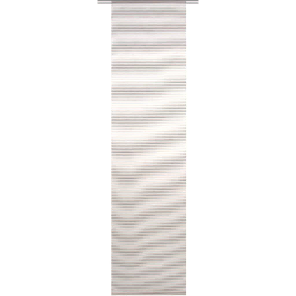 HOME WOHNIDEEN Schiebegardine »JÖRG«, HxB: 245x60, Bambus Querstreifen