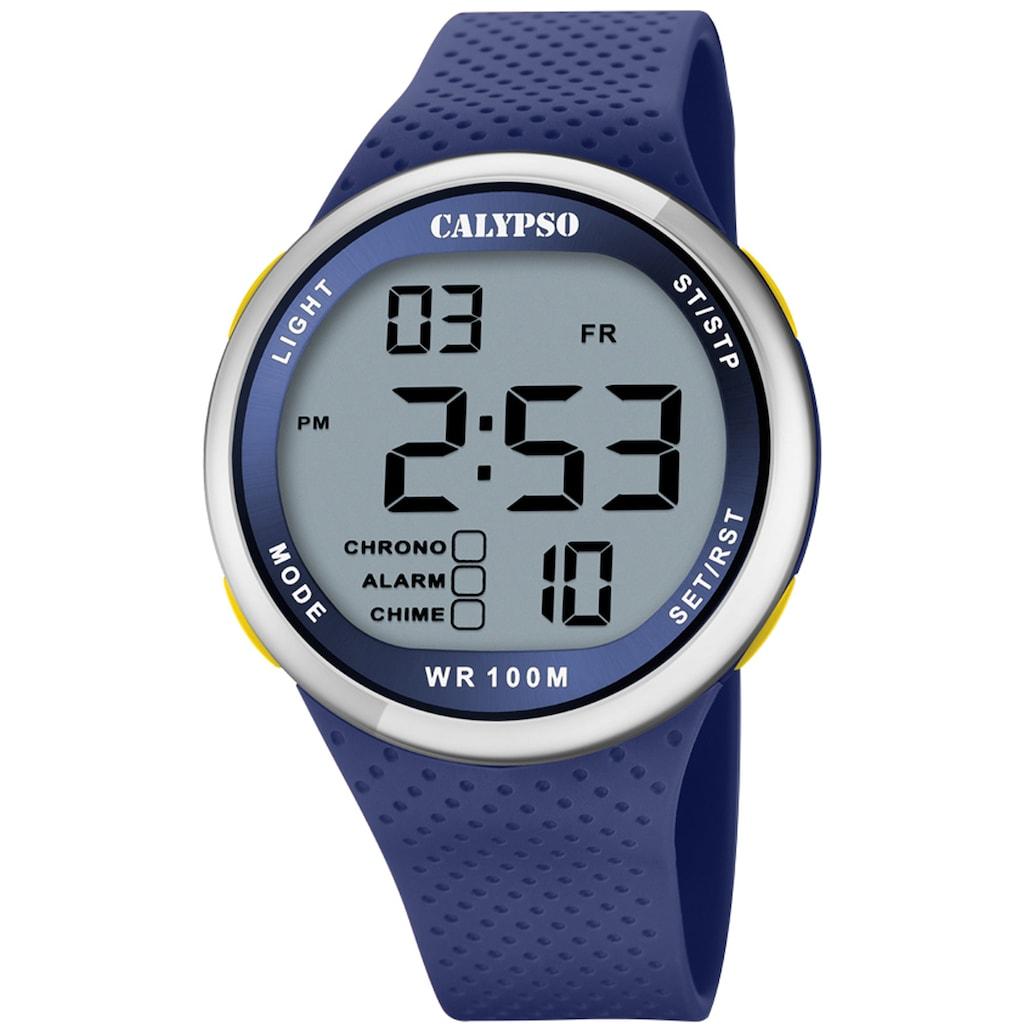 CALYPSO WATCHES Chronograph »Color Splash, K5785/3«